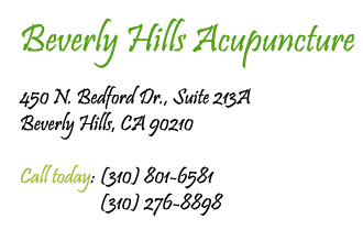 Beverly Hills Acupuncture CEU Address: 450 N. Bedford Drive, Suite 213A, Beverly Hills, CA 90210